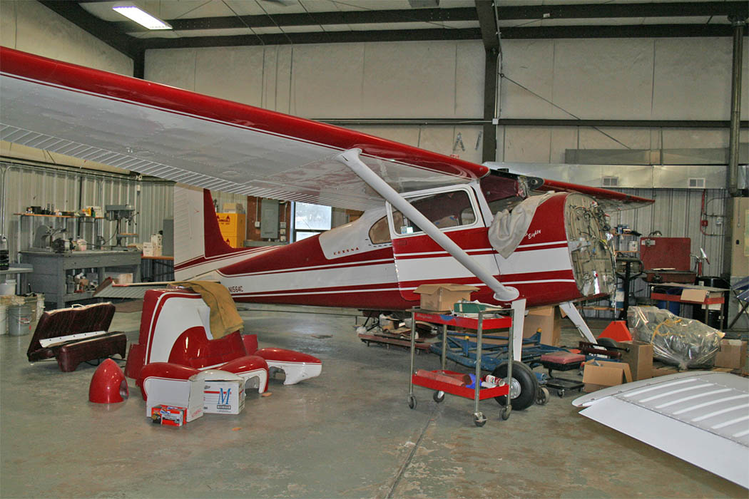 Cessna 180 Refurbishment (2a)