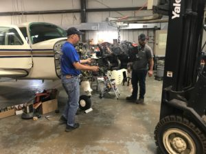 Engine Overhaul at Sky Manor Air Repair