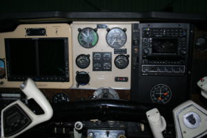 Bonanza Panel at Sky Manor Air Repair and Avionics N40